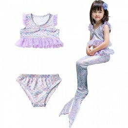 Mermaid Bathing Suit Toddler For Girls Swimwear Mermaid Bikini Costume