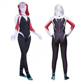 Toddler & Womens Spider Girl Gwen Stacy Costume Halloween Spiderman Girl Costume Kids