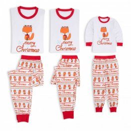 Matching Family Christmas Pajamas Christmas Fox