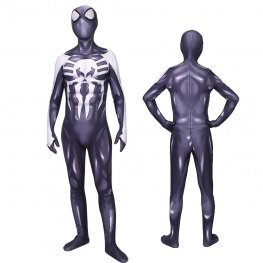 Black Venom Spider Man Cosutme Cosplay Spandex Suit Zentai Adult & Kids