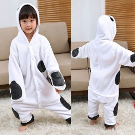 Baymax Kids Flannel Animal Onesie Pajamas