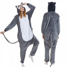 Lemur Onesie Pajamas For Adult Fast Shipping Worldwide