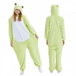 Keroppi Frog Onesie Pajamas And Quality Adult Animal Onesies On Coolincn.com
