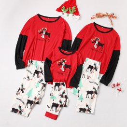 Family Pajamas Sets Holiday Pajamas Mooseltoe