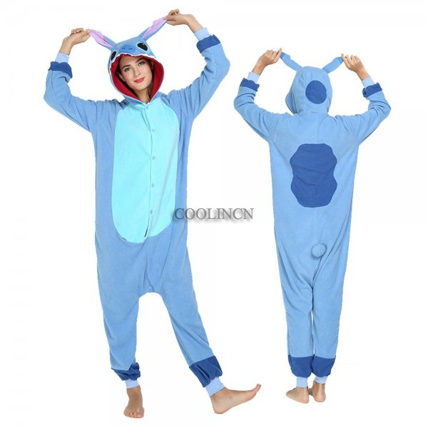 Lilo & Stitch Costumes Adult Animal Onesie Pajamas