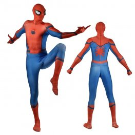 Spiderman Stark Homecoming Costume Suit For Adult & Kids Cosplay Spandex Suit Zentai Adult & Kids