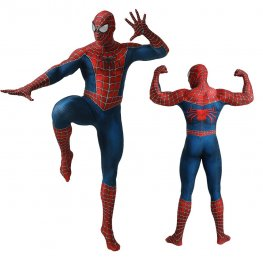 Amazing Classic Spider Man Costume Adult & Kids Cosplay Spandex Suit Zentai