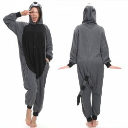 Super Soft Raccoon Onesie Pajamas For Adult Online Sale