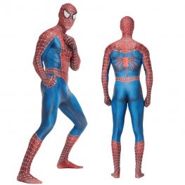 Classic Spider-Man Peter Paker Suits Adult & Kids Cosplay Costume Spandex Bodysuit Zentai