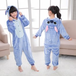 Stitch Onesie Pajamas for Kids Animal Onesies Halloween Costumes