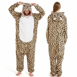 Affordable Leopard Bear Onesie Pajamas Global Express
