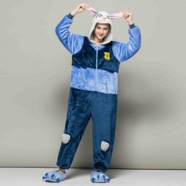 Judy Hopps Bunny Adult Animal Onesies Pajamas With Best Price