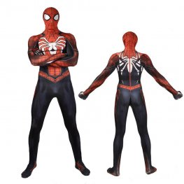 Ps4 Spider Man Suit Cosplay Costume Spandex Zentai Adult & Kids