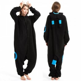 Super Soft Blue Pokemon Monster Onesie Pajamas For Adult Online Sale