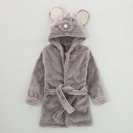 Mouse Robe for Baby Flannel Bathrobe Cute Sofy & Cozy