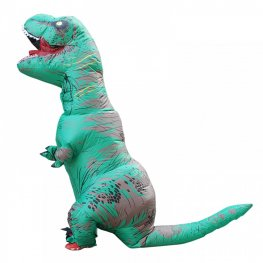 Blow Up Costumes Inflatable Dinosaur T Rex Costume Halloween Suit For Kids