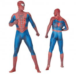 Spider-Man Peter Paker Classic Suits Adult & Kids Cosplay Costume Spandex Zentai