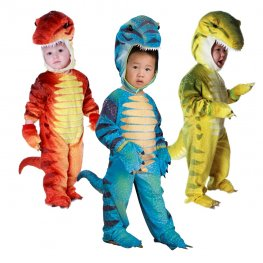 Inflatable Dinosaur Velociraptor Blow Up Costumes Party Halloween Animal Funny Suit for Kids