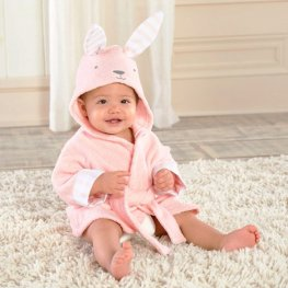 Bunny Robe for Baby Flannel Bathrobe Cute Sofy & Cozy