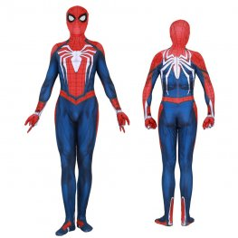 Ps4 Spider Man Cosplay Costume Spandex Suit Zentai Adult & Kids