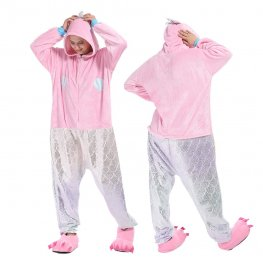 Mermaid Onesie Pajamas Costumes Adult Animal Onesies Zip up
