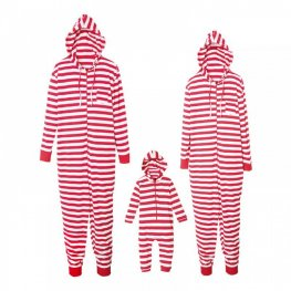 Family Pajamas Sets Holiday Pajamas Red Stripe