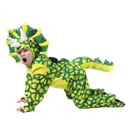 Inflatable Dinosaur Blow Up Costumes Party Halloween Animal Funny Suit for Kids