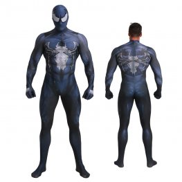 Black Venom Spider Man Costuem Cospaly Suit Zentai For Adult & Kids